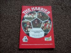 Kidderminster Harriers v Colchester United, 1990/91